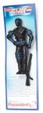 G.I. Joe Snake Eyes Funskool Pepsodent Import Carded Figure