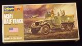 Hasegawa -  1/72 Scale M3A1 Half Track Military Vehicle Mini Box Model Kit