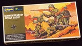 Hasegawa - 1/72 Scale German Infantry Attack Group Figure Set Mini Craft Model Kit