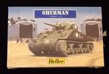 Heller 1/72 Sherman Tank Military Vehicle Model Kit