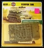 Airfix - HO/OO Scale Scorpion Tank Vehicle World War II Carded Model Kit