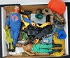 1/6 Scale GI Joe Tray Lot of Assorted Toys, Figures, & Accessories