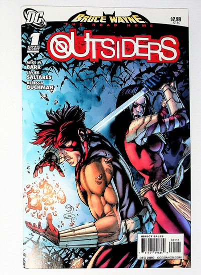 Bruce Wayne: The Road Home: Outsiders # 1