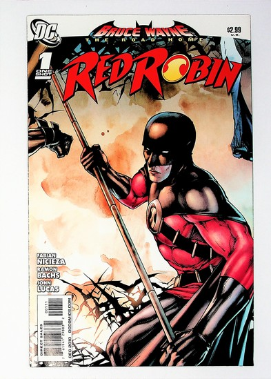 Bruce Wayne: The Road Home: Red Robin # 1