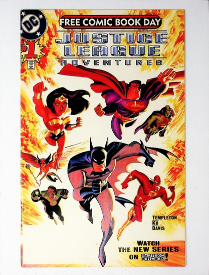 Justice League Adventures # 1B