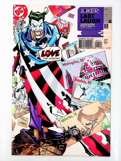 Joker: Last Laugh # 4