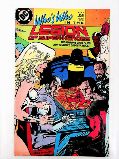 Who's Who in the Legion of Super-Heroes # 5