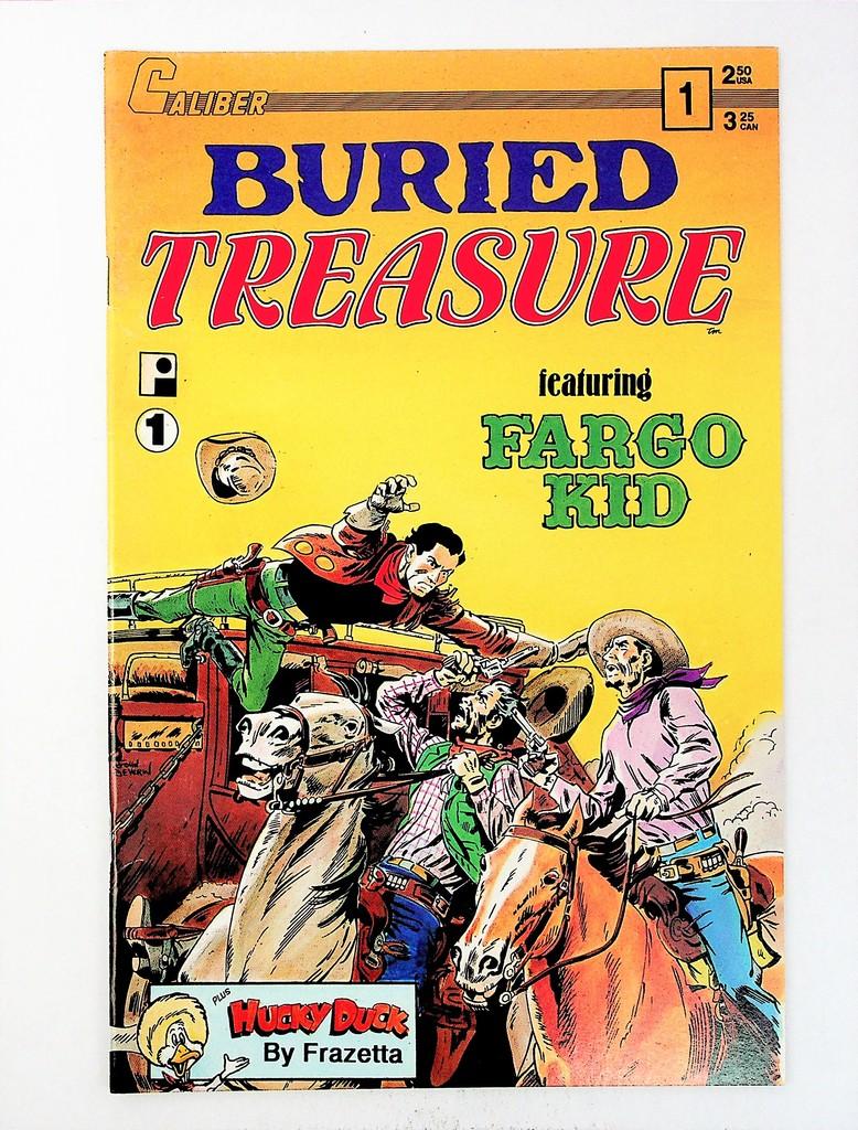 Buried Treasure, Vol. 2 # 1
