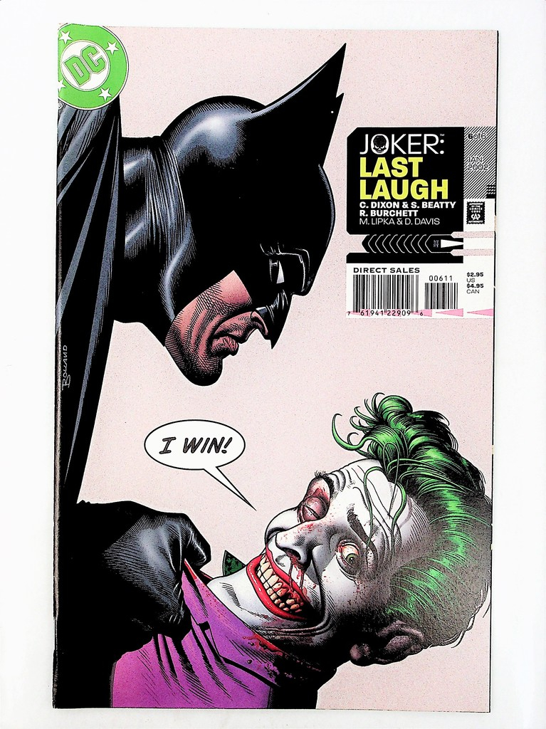 Joker: Last Laugh # 6