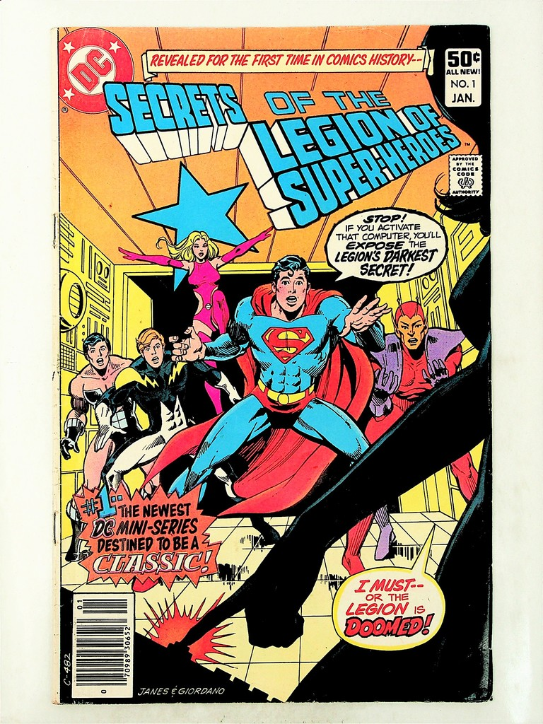 Secrets of the Legion of Super-Heroes # 1