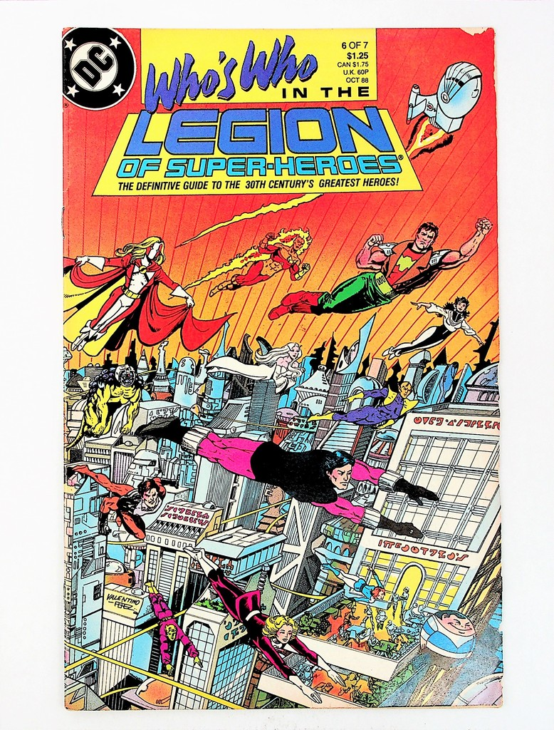 Who's Who in the Legion of Super-Heroes # 6