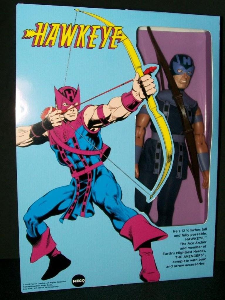 "12"" Hawkeye Custom Figure by Brian Leitner"