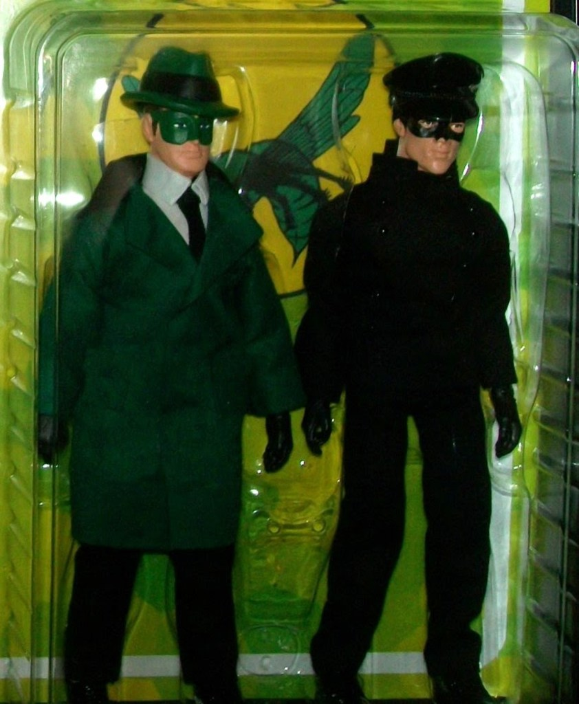 Green Hornet & Kato 2 Figure Set by Brian Leitner