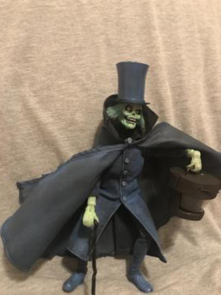 Hatbox Ghost Custom Mego Figure by Jim Hampton