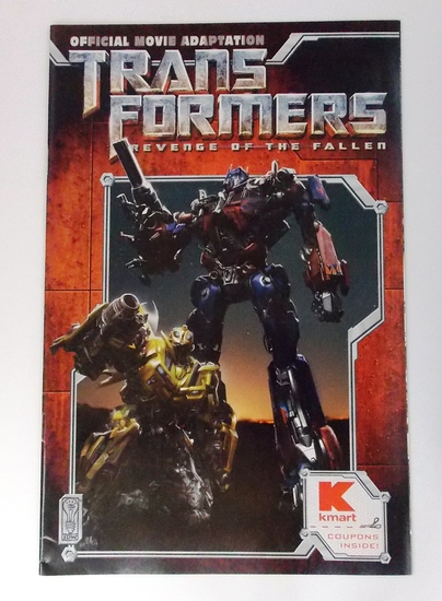 Transformers Botcon 2009 Kmart Exclusive Convention Comic Book