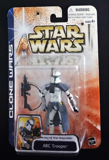 ARC Trooper Saga Collection Clone Wars Star Wars Action Figure