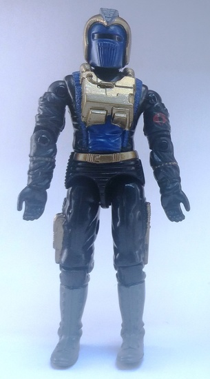 G.I. Joe 2003 Black Dragon Trooper Convention Exclusive Figure