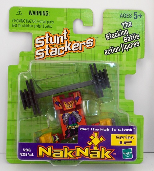 Coolnak #78 Nak Nak Stacker Building Block / Action Figure Toy