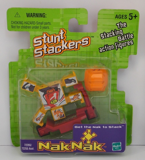 Holo-Humanak #53 Nak Nak Stacker Building Block / Action Figure Toy