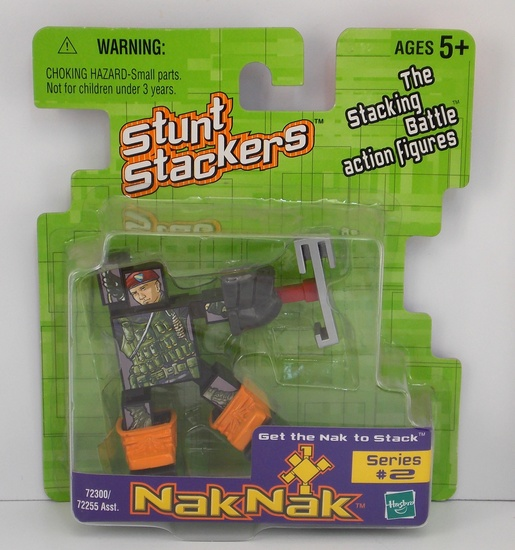 Soldiernak #55 Nak Nak Stacker Building Block / Action Figure Toy
