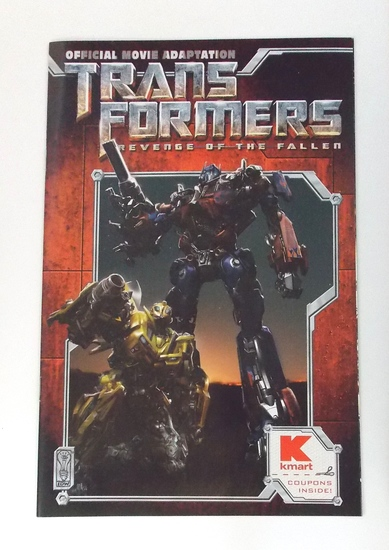 Transformers Botcon 2009 Kmart Exclusive Convention Comic Book