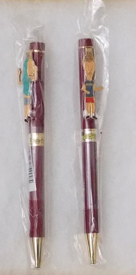 Beavis and Butthead Figural Refillable Pen Set