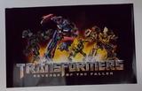 Transformers: Revenge of the Fallen Movie Promo Poster