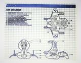 GI Joe Vintage Serpentors Air Chariot Original Hasbro Vehicle Blueprints / Instructions Hasbro