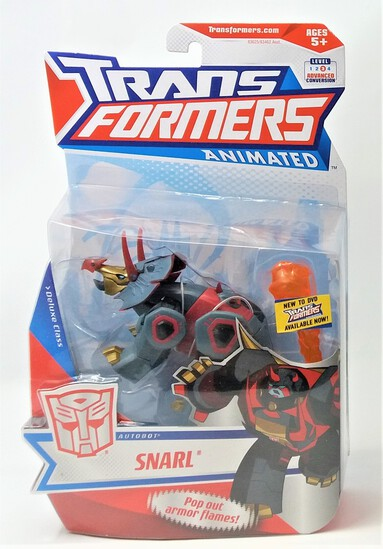 Snarl Transformers Animated Series Action Figure