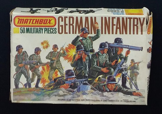 Airfix - 1/72 Scale WWII German Infantry Figure Set