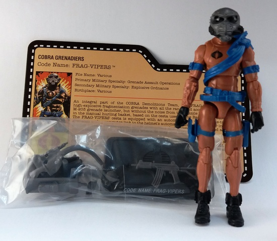G.I. Joe 2013 Frag Viper Nocturnal Fire Convention Exclusive Figure