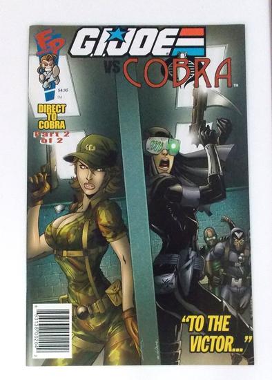 "GI Joe Club Exclusive DTC #2 ""To the Victor"" Comic Book"