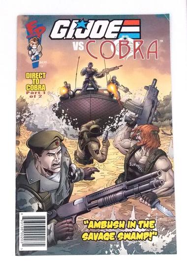"GI Joe Club Exclusive DTC #1 ""Ambush in the Swamp"" Comic Book"