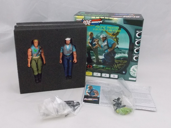 Pacific Theater G.I. Joe Collector's Club Flaming M.O.T.H. 2 Figure Set