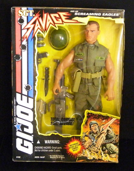 "Total Combat Sgt. Savage 12"" 1/6 Scale Boxed Figure"