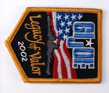 JoeCon 2002 Iron-On Embrodered Patch GI Joe Convention Souvenir