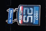 JoeCon 2007 Cloisonne Enameled GI Joe Convention Pin