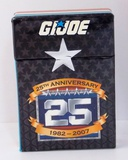 G.I Joe 2007 Convention 25th Anniversary Playing Card Deck