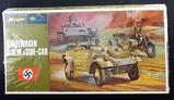 Hasegawa - 1/72 Scale KuebelWagen B.M.W. and Side-Car Military Vehicle MiniCraft Model Kit