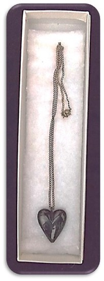 C.L.H. Necklace w/ Black Onyx Pendant