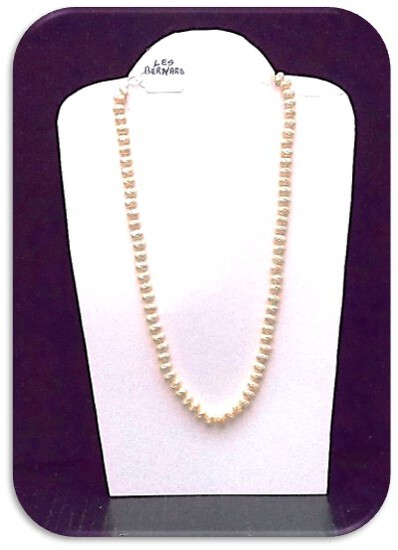 Les Bernard Necklace w/ Freshwater Pearl