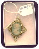 Gerry's Cameo Brooch w/ Imported Stone