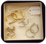 Vintage Sterling Silver Earring lot