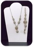 Necklace & Bracelet set w/ RhineStone