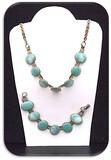 Necklace & Bracelet set w/ Turquoise