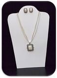 Necklace & Earring set w/ Harmony Jasper Stone
