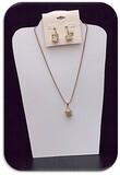 Longaberger Necklace & Earring set