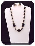 Necklace & Earring set w/ Black Onyx