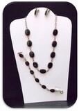 A.M. Co 1/20 K G.F. Necklace, Bracelet,  & Earring set w/ Black Onyx