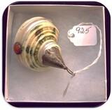 Sea Shell w/ Sterling Silver & Stone Decoration